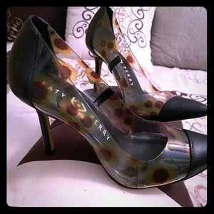 Katy Perry sunflower heels